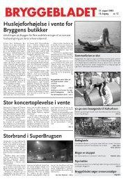 Huslejeforhøjelse i vente for Bryggens butikker - Bryggebladet