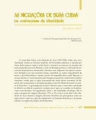 As migrações de Brás Cubas - Légua & meia - Universidade ...