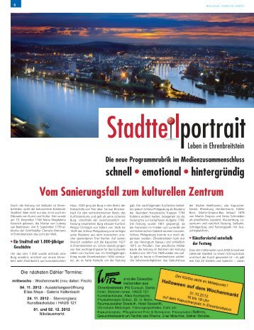Koblenz, vom: Samstag, 27. Oktober 2012 - Dr. Karl Heinz Kienle