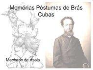 Análise de Memórias Póstumas de Brás Cubas