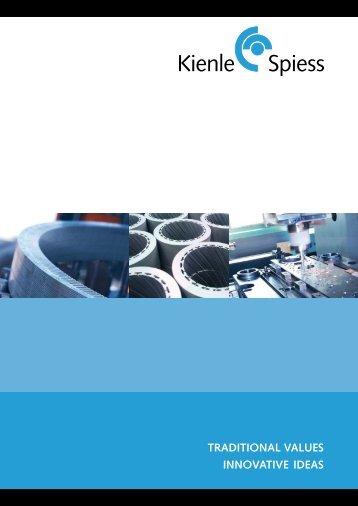 Company Image Brochure - Kienle + Spiess