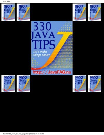 330 Java Tips.pdf - FTP Server