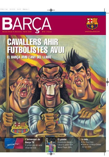 cavallers ahir futbolistes avui futbolistes avui ... - FC Barcelona