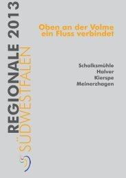 Antrag zur Regionale 2013 - Meinerzhagen