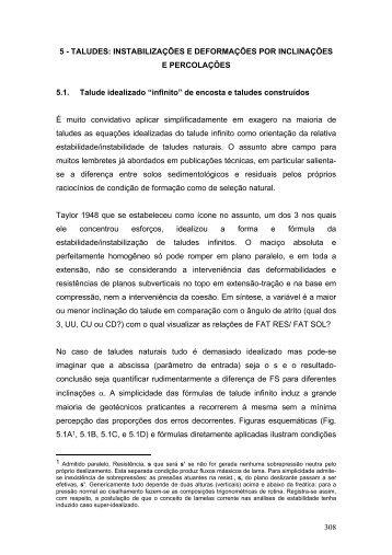 308 5 - TALUDES: INSTABILIZAÇÕES E ... - Victor FB de Mello