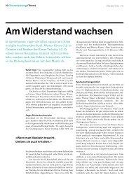 Am Widerstand wachsen (Deutsch) - Kieser Training
