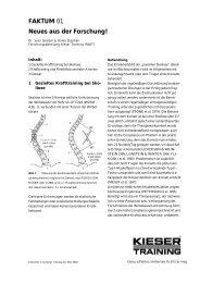Neues aus der Forschung! - Kieser Training