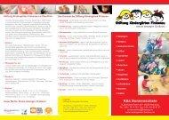 Flyer Kita Sonnenschein (pdf) - Stiftung Kindergärten Finkenau