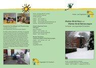 """Flyer """"Mutter-Kind-Haus und Mutter-Kind-Betreuungen"""" (PDF-Datei)"""