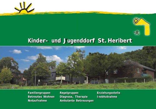 Info-Broschüre des Kinder- und Jugenddorfes St.Heribert (PDF-Datei)