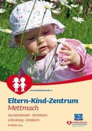 Programm EKiZ Mettmach - Kinderfreunde Oberösterreich