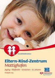Programm EKiZ Mattighofen - Kinderfreunde Oberösterreich