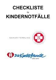 Leitfaden für richtige Erste-Hilfe bei Kindernotfälle