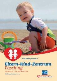 Frühjahsprogramm 2013 des Eltern Kind Zentrums Pasching