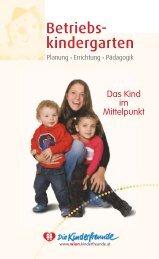 Leitfaden Betriebskindergarten 2012 - Kinderfreunde