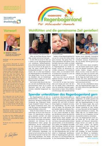 Vorwort - Kinderhospiz Regenbogenland