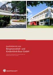 Bergmannsheil- und Kinderklinik Buer GmbH - Kinder- und ...