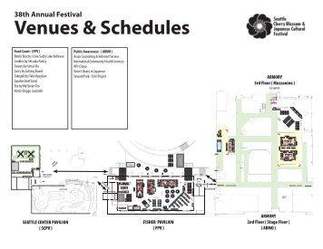 Venues & Schedules