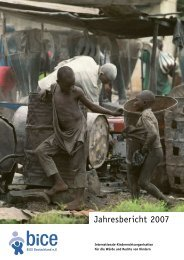 Jahresbericht 2007 - Kinderrechte Afrika eV