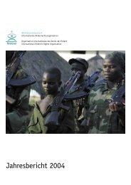 Jahresbericht 2004 - Kinderrechte Afrika eV