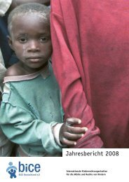 Jahresbericht 2008 - Kinderrechte Afrika eV