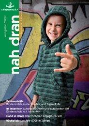 nah dran 2009 - Kinderschutz eV