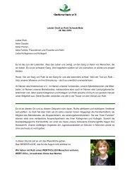Letzter Gruß an Ruth Schwab-Betz 28. Mai 2010 ... - Kinderschutz eV