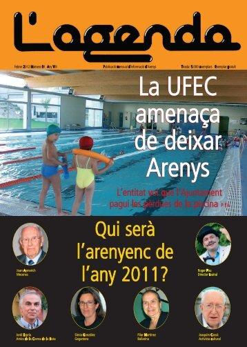 La UFEC amenaça de deixar Arenys La UFEC amenaça ... - L'Agenda