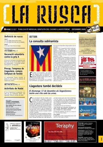 Rusca número 20. Desembre de 2009
