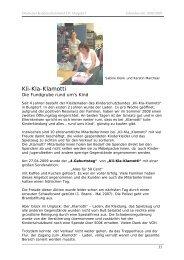 Jahresbericht Deutscher Kinderschutzbund OV Burgdorf 2008/2009