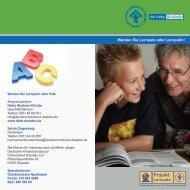 Flyer zum Projekt - Deutscher Kinderschutzbund OV Dresden eV