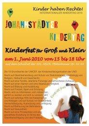 Johannstädter Kindertag - Deutscher Kinderschutzbund OV ...