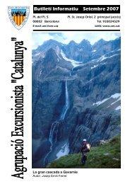 Setembre 2007 - Agrupació Excursionista Catalunya