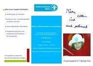 Gruppenangebot für 7-9jährige Kinder - Kinderschutzbund Mainz