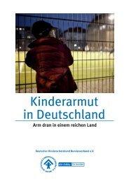 Kinderarmut in Deutschland - Deutschen Kinderschutzbundes ...