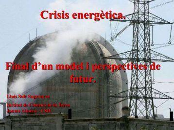 Crisis energètica.
