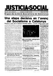 Una etapa decisiva en l'avenç del Socialisme a Catalunya - Atipus