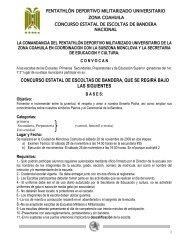 concurso estatal de escoltas de bandera, que se - PDMU Subzona ...