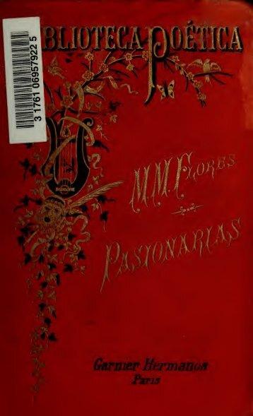 Pasionarias, poesías. Con un prólogo por Ignacio M. Altamirano