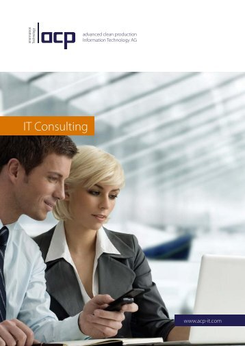 Lean IT drives your business and advancing your IT is our strength