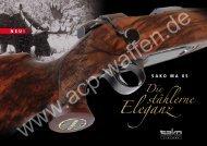 stählerne Eleganz Die - ACP-Waffen