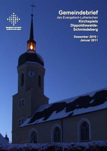Gemeindebrief Dezember 2010/ Januar 2011 - Ev.