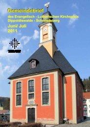 Gemeindebrief Juni/ Juli 20011 - Ev.