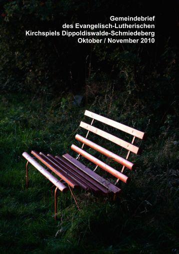 Gemeindebrief Oktober/ November 2010 - Ev.