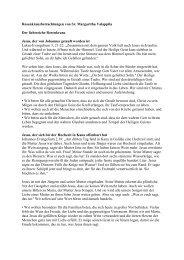 Betrachtung zum Lichtreichen Rosenkranz von Sr ... - Kirche in Not