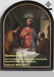 Gemeindebrief Februar/ März 2012 - Ev.