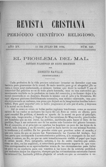 PERIODICO CIENTIFICO RELIGIOSO. - Fundación Federico Fliedner