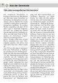 Gemeindebrief Ostern 2012 - Evangelische Kirche Reinheim - Page 6