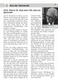 Gemeindebrief Ostern 2012 - Evangelische Kirche Reinheim - Page 7