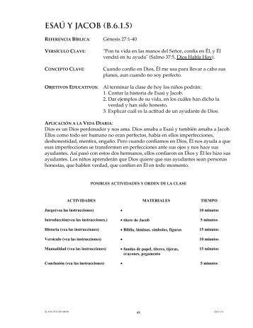 ESAÚ Y JACOB (B.6.1.5)